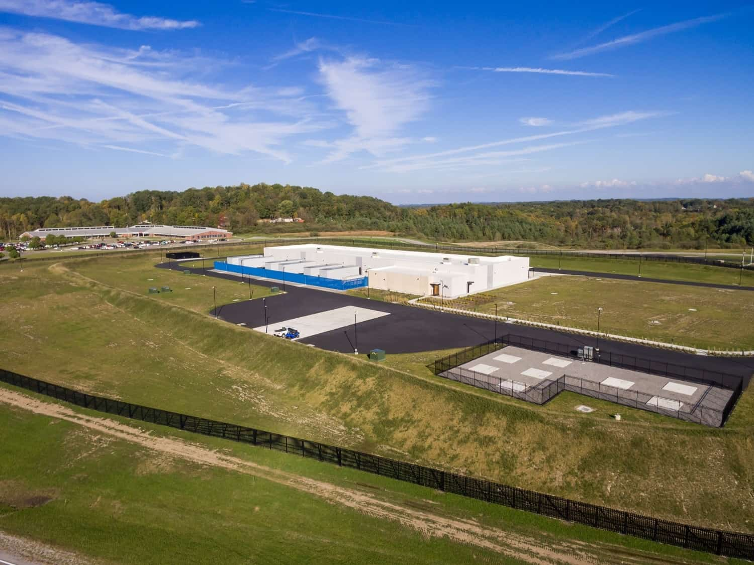 DP Facilities own Data Center and is located in Wise, Virginia