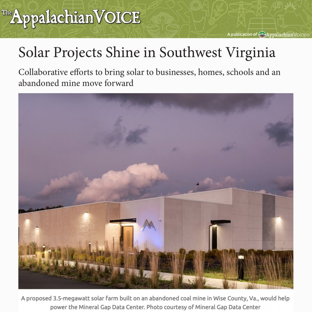 Solar Projects Shine in Southwest Virginia